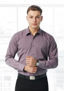 Man in Business Shirt